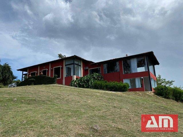 Casa com 5 dormitórios à venda, 390 m² por R$ 1.300.000,00 - Alpes Suiços - Gravatá/PE - Foto 9