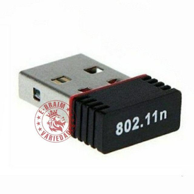 Mini Adaptador Sem Fio Wifi - Foto 2