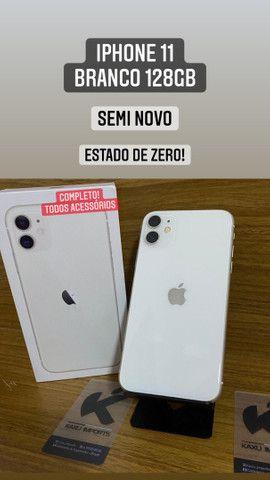 iPhone 11 Branco 128gb - Estado de zero! Completo.