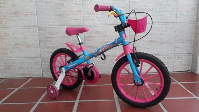 Bicicleta Infantil Aro 16 - Semi Nova - Foto 5
