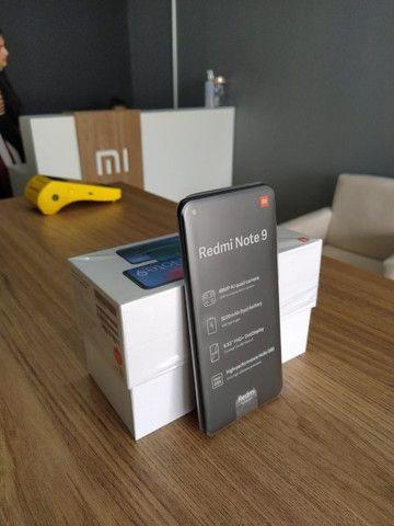 Xiaomi Redmi Note 9 128Gb/4gb 1 Ano De Garantia Cor Verde/Cinza/Branco/Vermelho/Preto - Foto 2