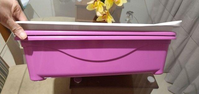 Banheiro de gato furba rosa - Foto 2