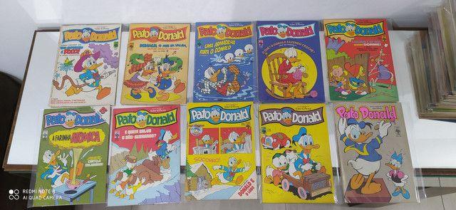 Gibis pato Donald coleção editora abril lote com 100 revistas em quadrinhos - Foto 2