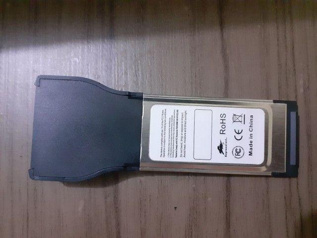 Cartão Pcmcia IEEE1394a - Foto 3