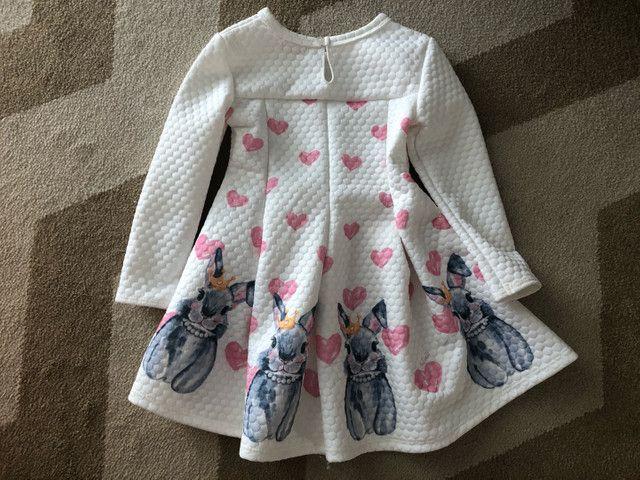 Vestido infantil tamanho 4 - Foto 2