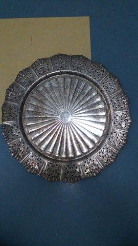 Bandeja antiga prata 90