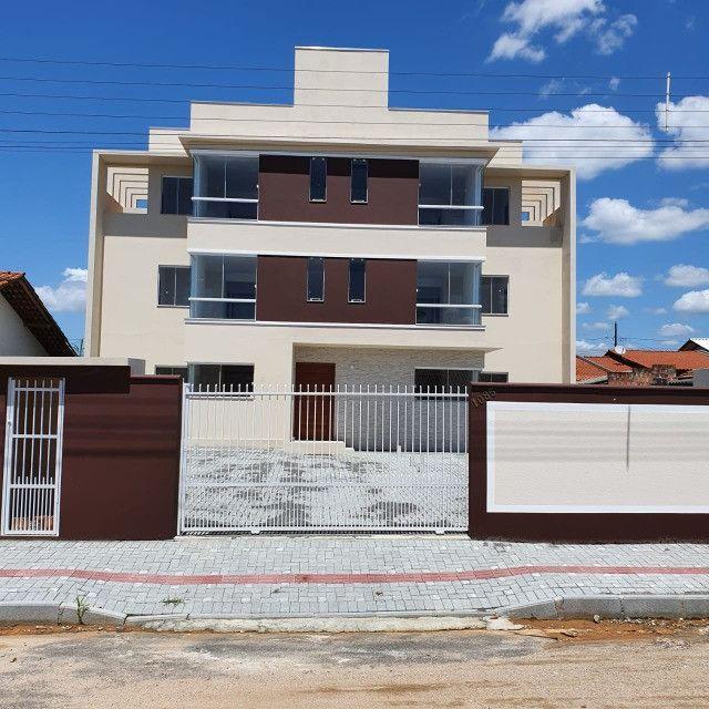 Apartamento novo 2º andar 2 quartos perto da praia em Barra Velha - Foto 18