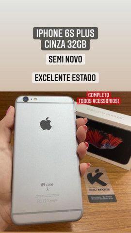 iPhone 6s Plus 32gb - Estado de zero! Caixa e todos acessórios.