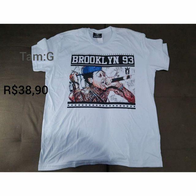 Camisetas Novas - Foto 4