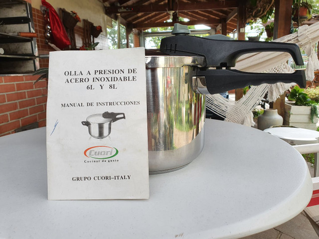 Panela de pressão inox italiana Cuore 6 litros  - Foto 5