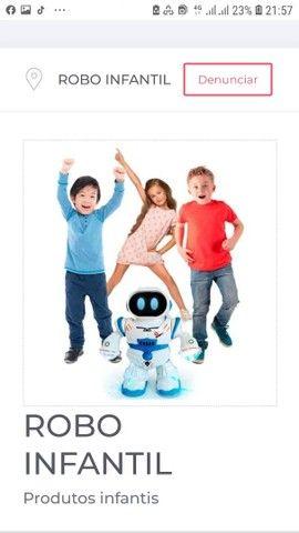 Robo infantil diversao garantida