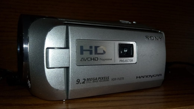 Filmadora HDR Sony Fulhd 1080p- Saída Limpa para Lives