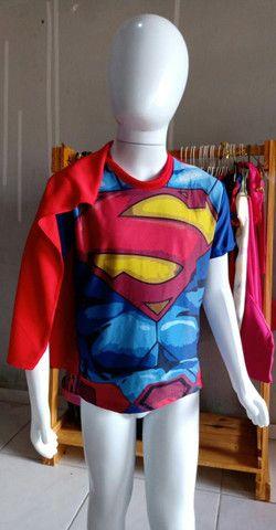 Blusas Super Heróis - Foto 4