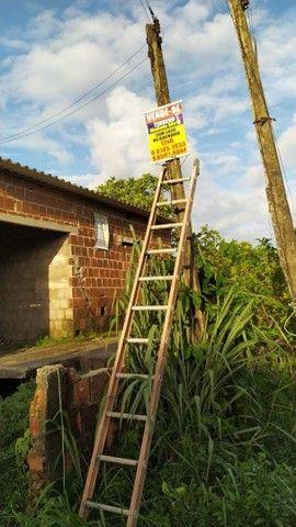 Vende-se terreno com casa na alvenaria 50x12  - Foto 5