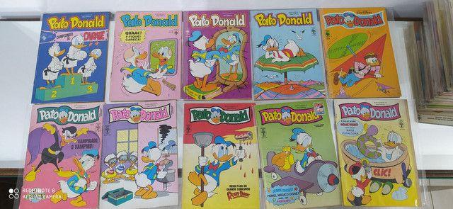 Gibis pato Donald coleção editora abril lote com 100 revistas em quadrinhos - Foto 5