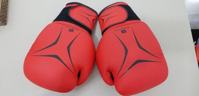 Luva de Boxe / Muay Thai Domyos - FKT 180 - 12 OZ + Bandagem