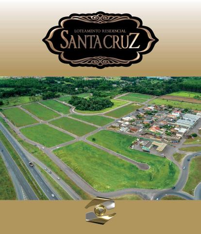 Lotes Financiados - Entrada Facilitada 12 Vezes - Residencial Santa Cruz - Anápolis-GO