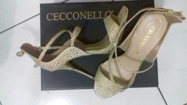 Sandália linda Dourada, CECCONELLO