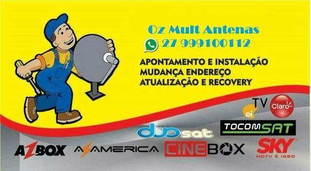 Antenas - Receptores - Conversores (serviços)