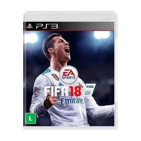 Fifa 2018 Ps3 jogos