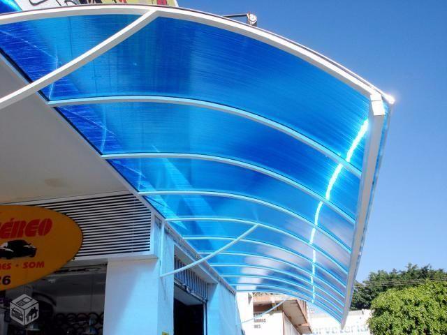 Toldos coberturas de policarbonato e pergolado servi os - Telas para toldos de terraza ...