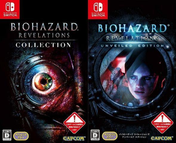 Jogo Resident Evil Revelations Switch Card