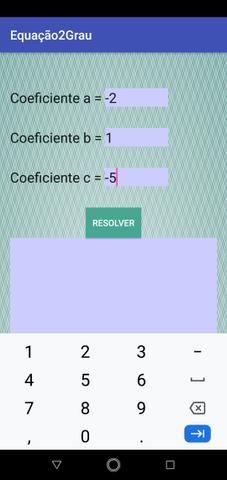 Aplicativo de resolução de equações - Foto 5