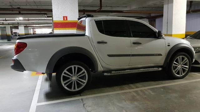 PickUp L200 Triton 2018 4x4 Diesel Aut completa de tudo - Foto 9