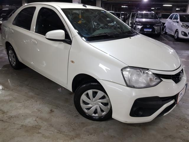 TOYOTA ETIOS 1.3 X 16V FLEX 4P MANUAL.