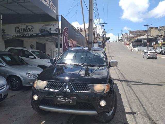 L200 triton hpe 3.2 cd tb diesel aut. 2008/2008 a mais nova do Nordeste - Foto 2