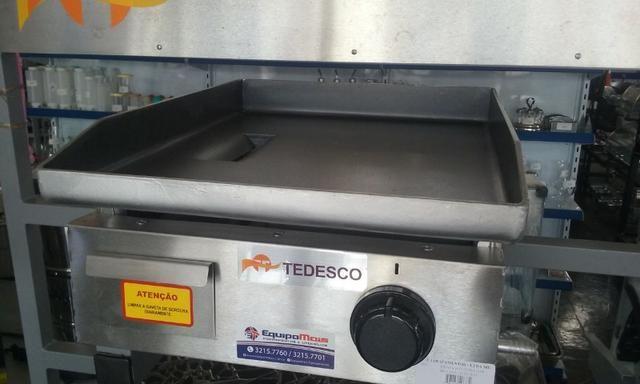 Chapa a gás BGT-042G Tedesco