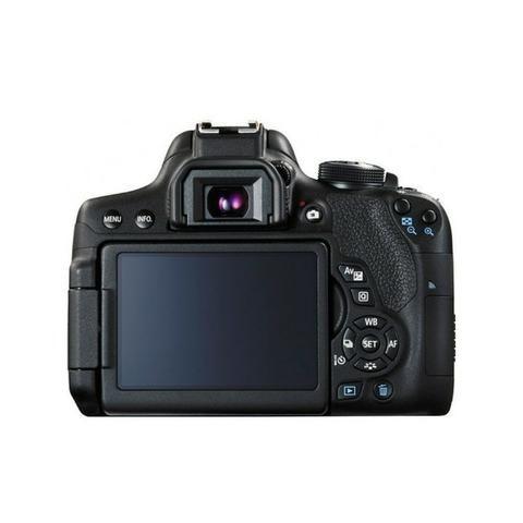 Camera Canon Eos T6I 18-55MM F/3.5-5.6 Is STM Preto - Foto 2