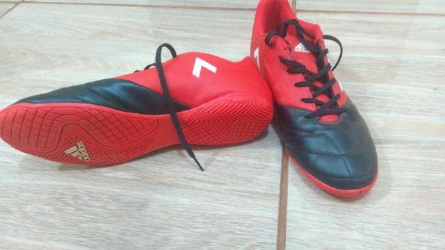 Tênis de Futsal Adidas semi-novo - Esportes e ginástica - Gleba ... 4bf26bcd824cb