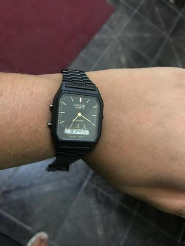 a2702f80b14 Relógio Casio digital e analógico - Bijouterias