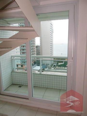 Cobertura residencial para locação no meireles com vista mar. - Foto 18