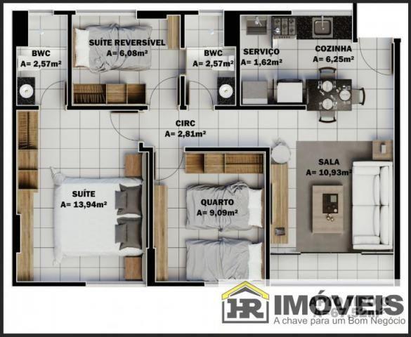 Apartamento para Venda em Teresina, PRIMAVERA, 3 dormitórios, 1 suíte, 2 banheiros, 1 vaga - Foto 15