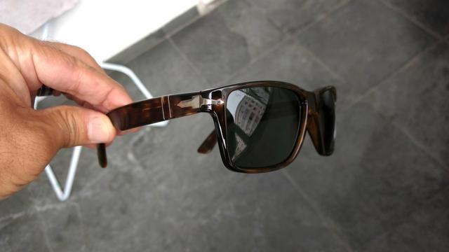 3134ced82 Óculos de sol da grife persol. novo sem uso. Italiano - Bijouterias ...