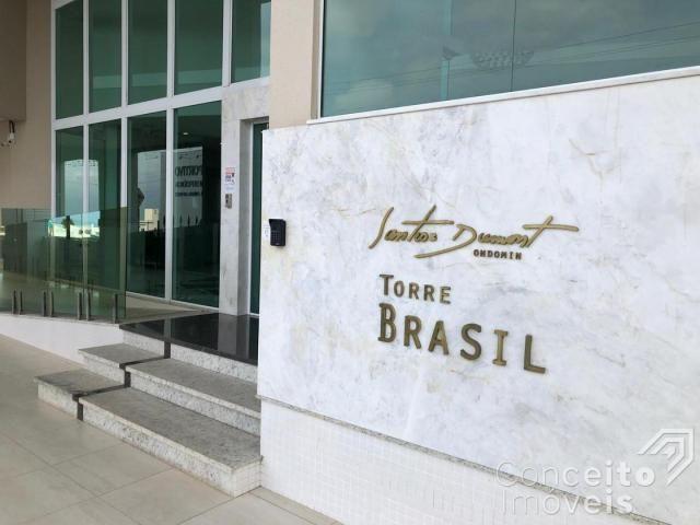 Apartamento para alugar com 3 dormitórios em Centro, Ponta grossa cod:392517.001 - Foto 3