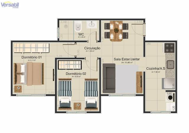 Apartamento a venda (ágio ou quitado) - Foto 4