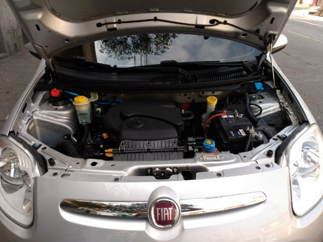 Fiat Palio 1.0 Attractive 8V Flex 4Ptas - Foto 8