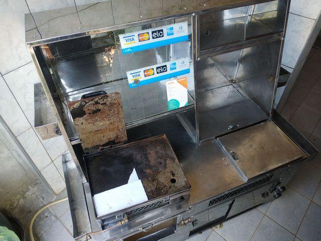 Kit para lanches e hot dog completo com muitos compartimentos...