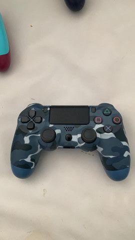 Controle PS4 NOVO primeira linha - Foto 5