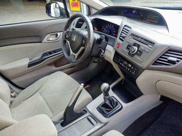 Honda Civic 1.8 Lxs 16v Flex Manual - Foto 3