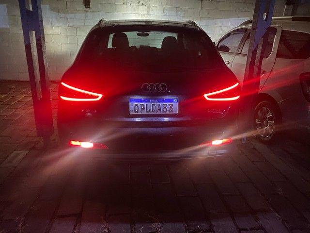 Audi Q3 interior caramelo Ipva 2021 Pago + Revisões - Foto 8