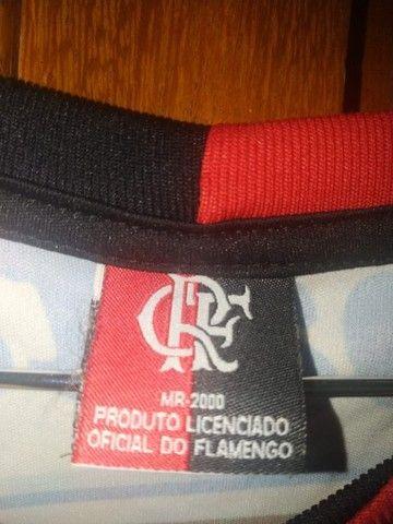 Camisa do Flamengo + Medalha  - Foto 4