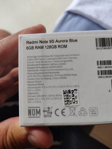 Vendo ou troco Redmi Note 9s 128gb - Foto 2