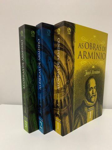 As obras de Armínio. 3 volumes. - Foto 2