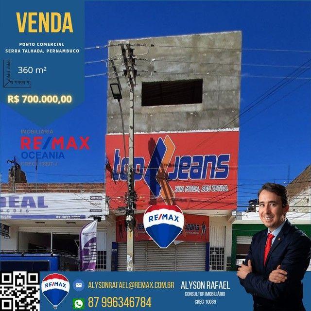 AR Vendo Ponto Comercial na Rua 15, em Frente a Feira Livre de Serra Talhada