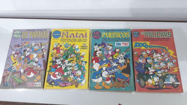Gibis Disney especial coleção 25 revistas em quadrinhos Mickey pato Donald tio patinhas - Foto 4