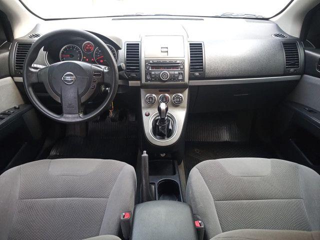 Nissan Sentra 2013 2.0 mec.branco(lindo!)completo+gnv+revisado+novíssimo!! - Foto 9